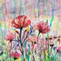 """04.2021 / """"Цветы"""" (акварель). Автор работы: Евстигнеева Анна Германовна"""
