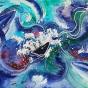 """04.2021 / """"Море"""" (акварель). Автор работы: Евстигнеева Анна Германовна"""