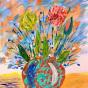 """22.11.2018 / Тема """"Цветы"""" в Библиотеке Удельнинской (Группа №2)"""