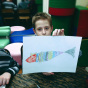 """22.01.2017 / Мастер-класс """"Волшебные рыбки"""" в реабилитационном центре"""