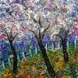 """05.03.2020 / Мастер-класс для взрослых """"Цветущие деревья"""" (акрил), группа 2 год обучения"""